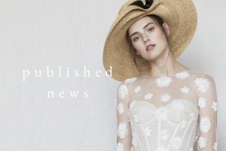 【メディア掲載】4月15日(月)公開のVOGUE JAPANにドレスサロンオープンについてのニュースが掲載されました