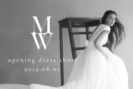 【京都】MW BY MAGNOLIA WHITE オープン記念ドレスショー開催