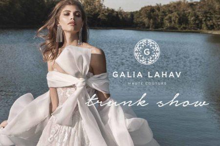 【表参道・大阪】ブランドの創始者兼デザイナーGalia Lahavが来日!1月にトランクショーの開催が決定いたしました。 最新コレクション「Fancy White」のドレスも日本初上陸